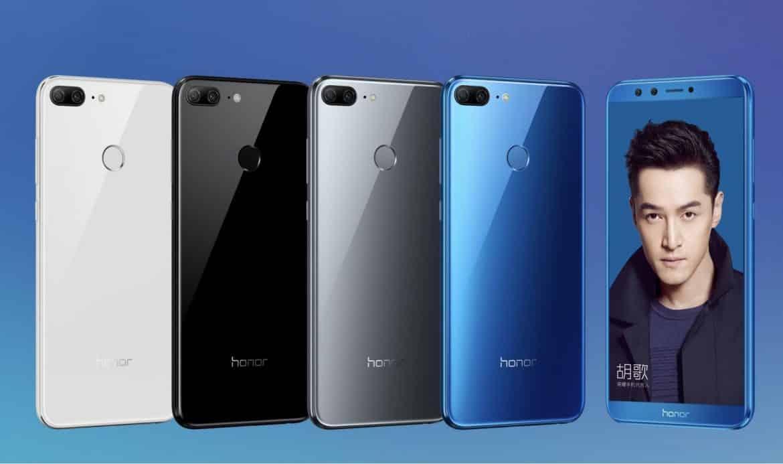 هاتف Honor 9 Lite كاميرات أمامية وخلفية مزدوجة
