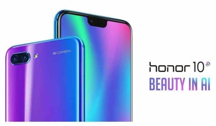 هاتف هواوي Honor 10 الرائع