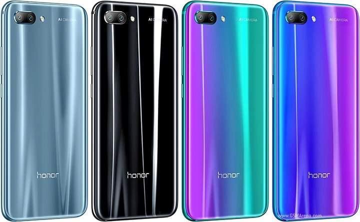 back view Huawei Honor 10