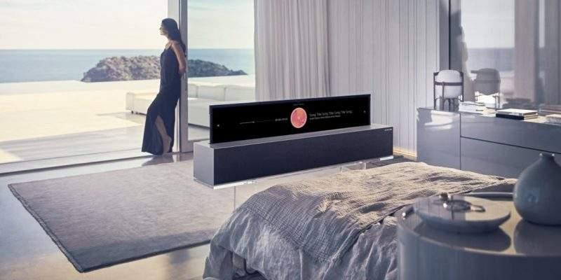 تلفزيون LG الأحدث.. جهاز عجيب يمكنه الاختفاء في لحظات