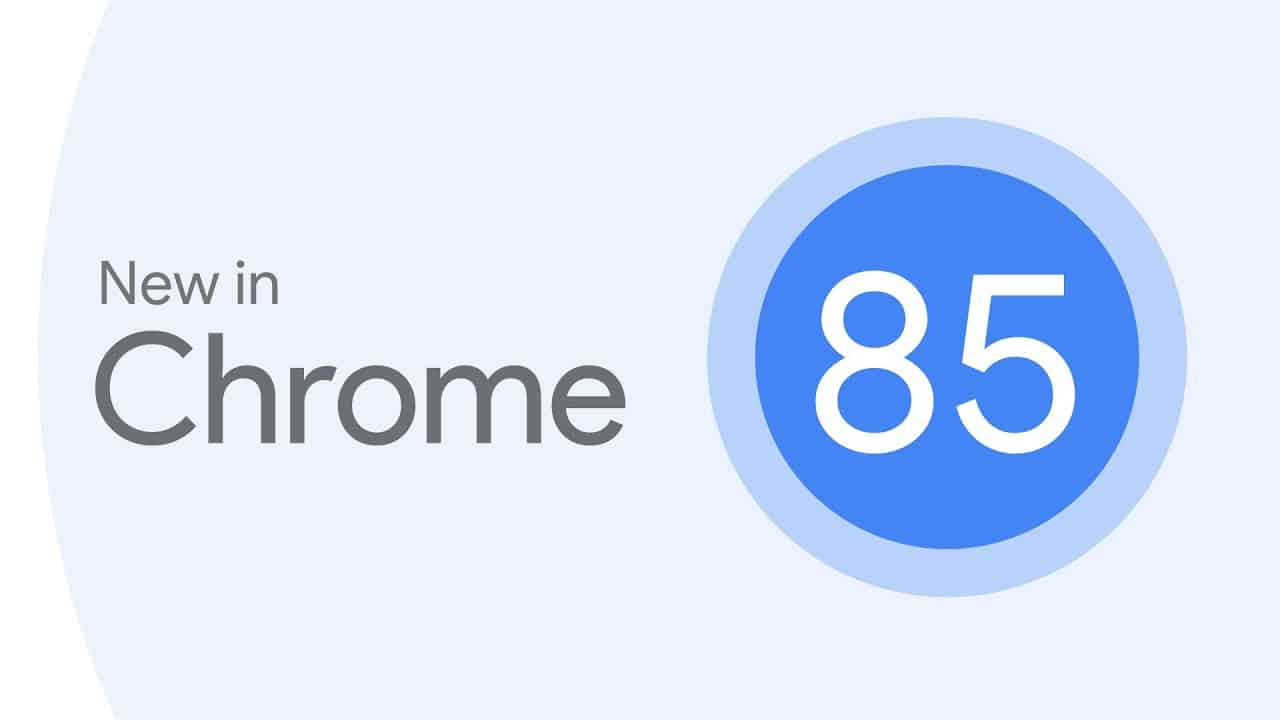جوجل كروم 85